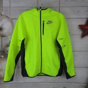Nike Athletic Ultimate Protect Hooded Jacket Neon